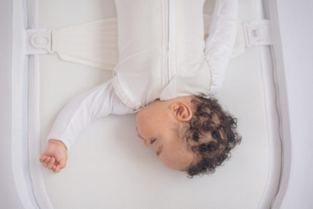 A comfortable sleep for you too - knowing baby is safe in their NiniPod